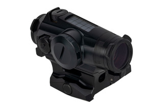 SIG Sauer ROMEO4T Red Dot Sight features a black anodized aluminum housing