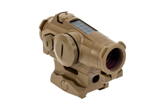 SIG Sauer ROMEO4T red dot sight features a flat dark earth finish