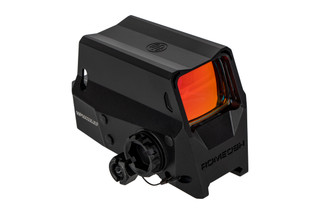 Sig Sauer Romeo 8H red dot sight features an enclosed housing made from 6061-T6 aluminum