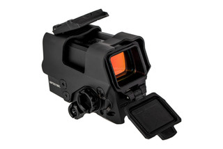 Sig Sauer Romeo 8T Red Dot Sight features a titanium shroud and flip up lens covers