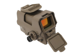 SIG Sauer ROMEO8T red dot sight features a flat dark earth finish