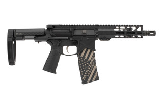 Battle Arms Development Silent Professional 300 Blackout AR15 Pistol features the monolithic PDW lower
