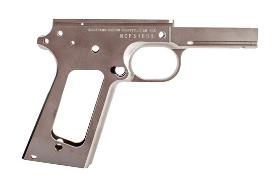 Nighthawk Custom 1911 Frame is designed for 45 ACP Government parts