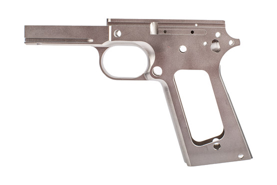 Nighthawk Custom 1911 Recon Frame is machined from 416 stainless steel