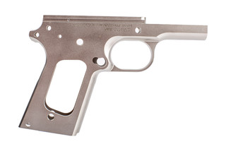 Nighthawk Custom 1911 Officer Frame is machined from stainless steel