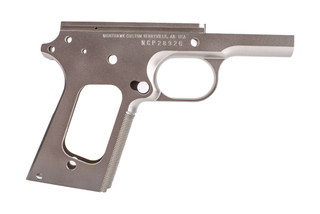 Nighthawk Custom 1911 Frame Officer is machined from 416 stainless steel