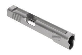 Nighthawk 1911 Custom Slide is designed for use with 5 inch government length 45 ACP barrels