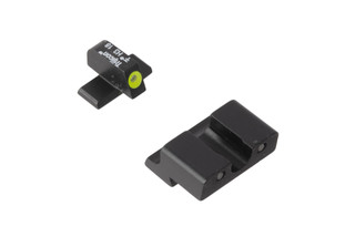Trijicon HD XR Springfield XD night sights feature a blacked out rear sight with wide U-notch and hi-vis yellow front sight with tritium inserts.