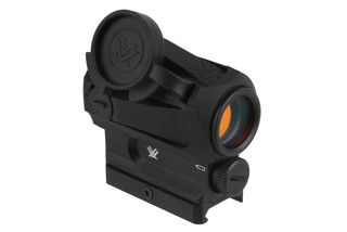The Vortex Sparc AR red dot sight features a 2 MOA illuminated reticle
