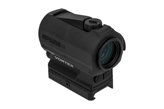 Vortex SPARC AR2 red dot sight features a durable aluminum housing