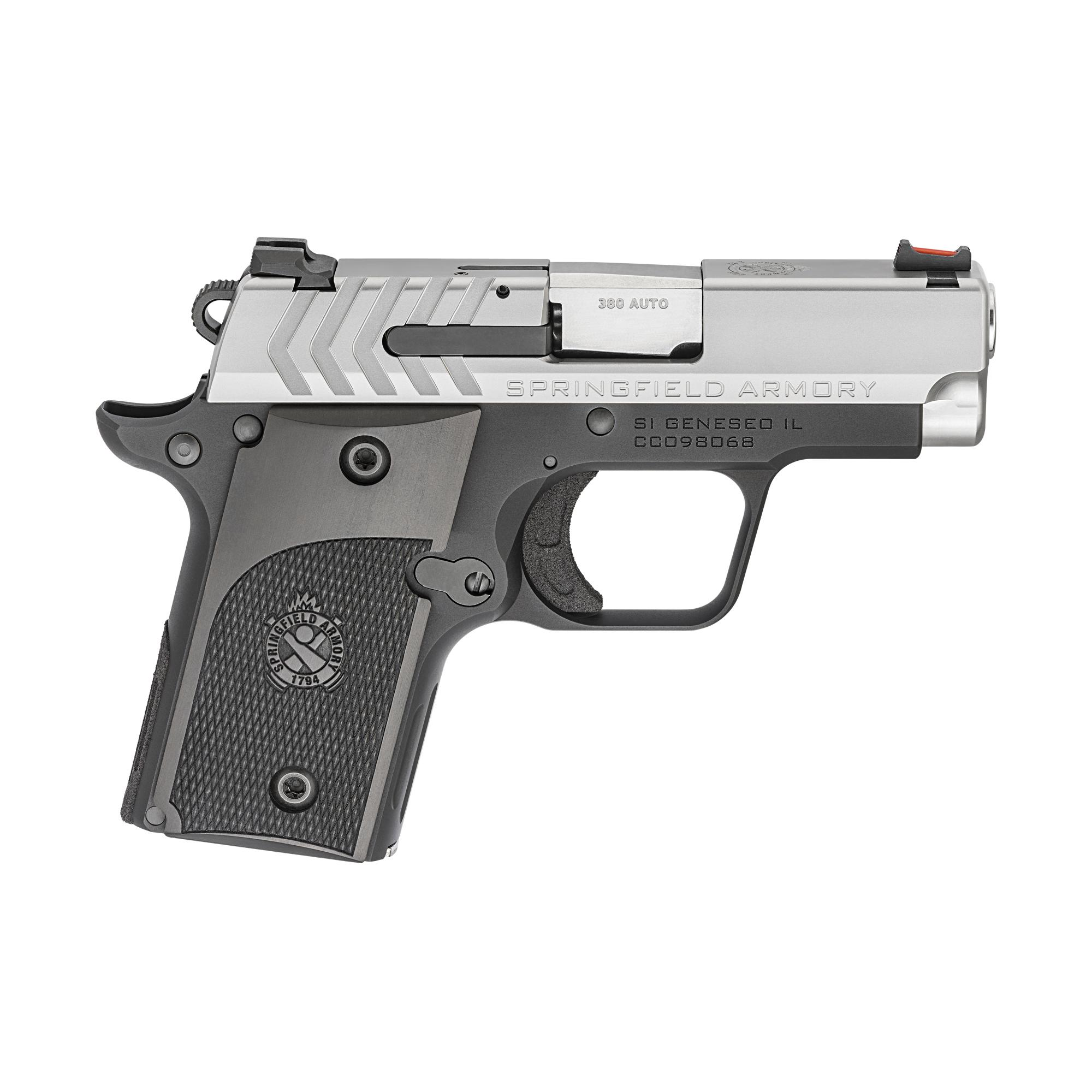 Springfield Armory 911 Alpha Stainless .380 ACP 2.7 Pocket Pistol - 6 Round