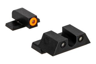 Night Fision Perfect Dot night sight set with U-notch, orange front and black rear ring for the Springfield XD.