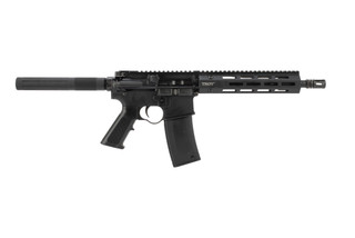 Troy Industries M4A3 pistol is chambered in 5.56