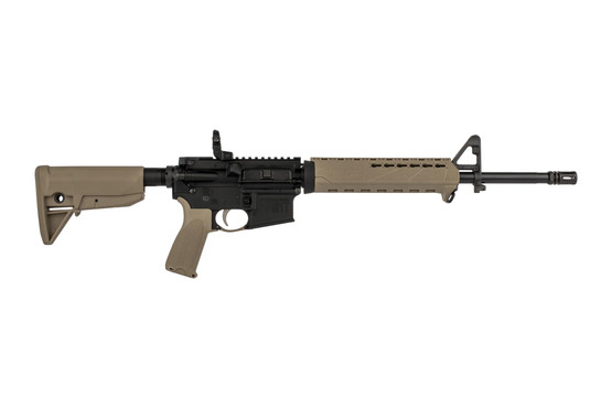 Springfield Armory 16in 5.56 NATO SAINT complete rifle is range ready with BCM furniture in a flat dark earth finish