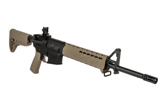 "Springfield Saint 16"" 5.56 NATO complete AR-15 features a KeyMod compatible drop-in polymer handguard from BCM"