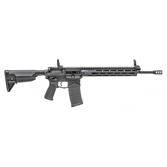 Springfield Armory SAINT Edge 5.56 AR15 rifle for sale features a free float M-LOk handguard
