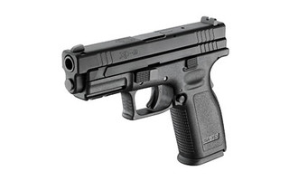 The Springfield Armory XD9is a 9mm Sub Compact 10 round Handgun with a 4 inch Barrel and ambidextrous grip safety