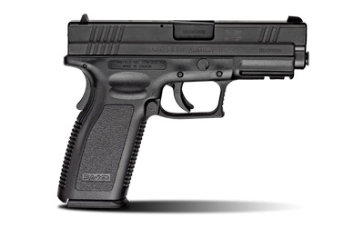 The Springfield Armory XD45 is a .45 ACP Full Size 10 round Handgun with a 4 inch Barrel and ambidextrous grip safety
