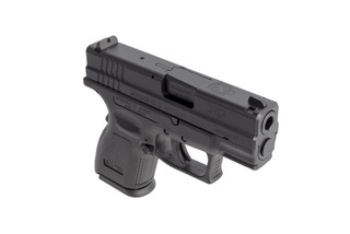 Springfield Armory XD9 sub-compact 9mm handgun with 3in barrel and 10-round capacity is perfect for EDC