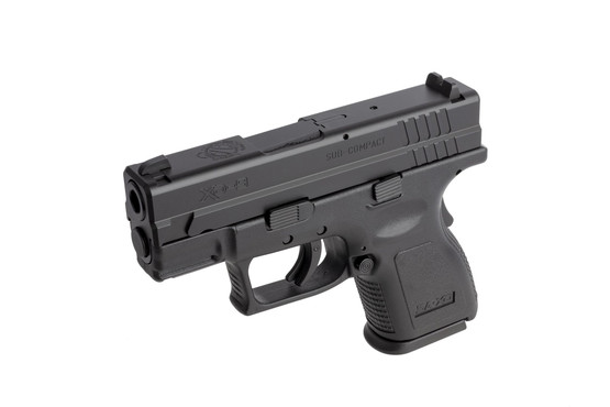 Springfield's sub compact XD-9 is perfectly sized for concealed carry and defensive use