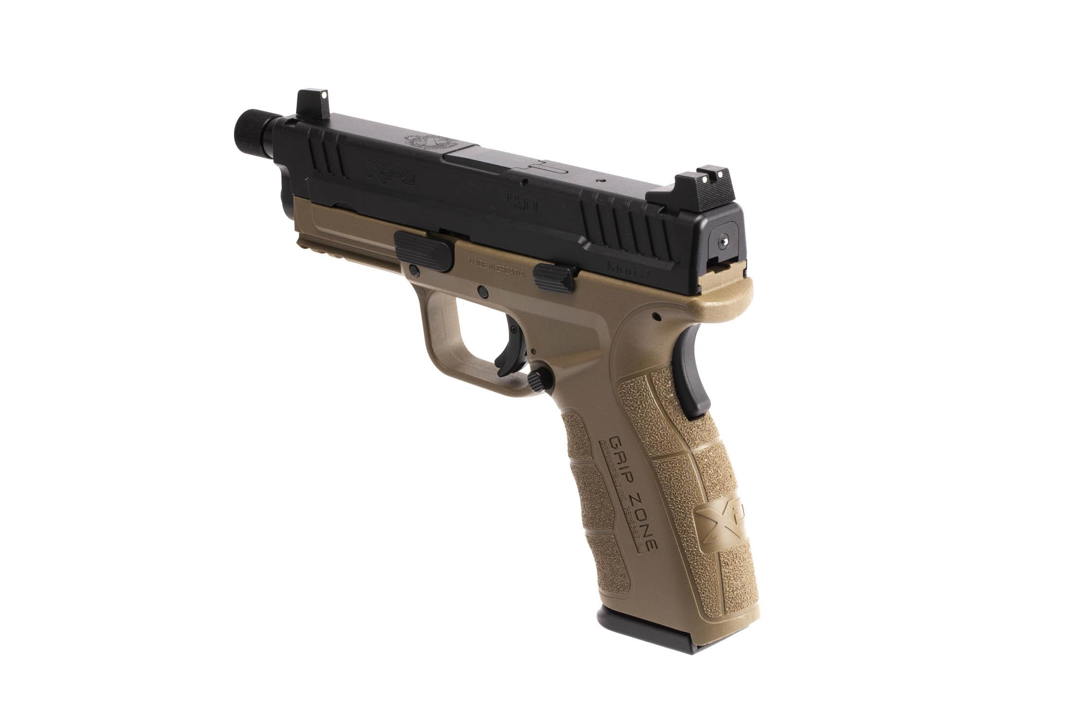 The Springfield Armory XD MOD.2 is a 9mm Full Size 16 round Handgun with fully ambidextrous controls