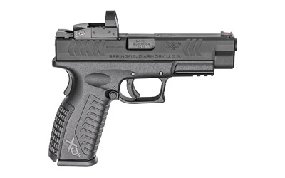 The Springfield Armory XDM OSP is a 9mm Full Size 19 round Handgun with a Vortex Venom red dot sight attached to the slide