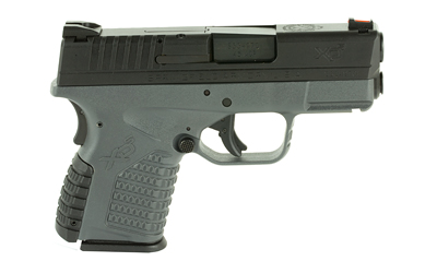 The Springfield Armory XD-S is a .45 ACP Sub Compact 6 round Handgun with fully ambidextrous controls