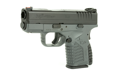 The Springfield Armory XD-S is a .45 ACP Sub Compact 6 round Handgun with enhanced grip texture