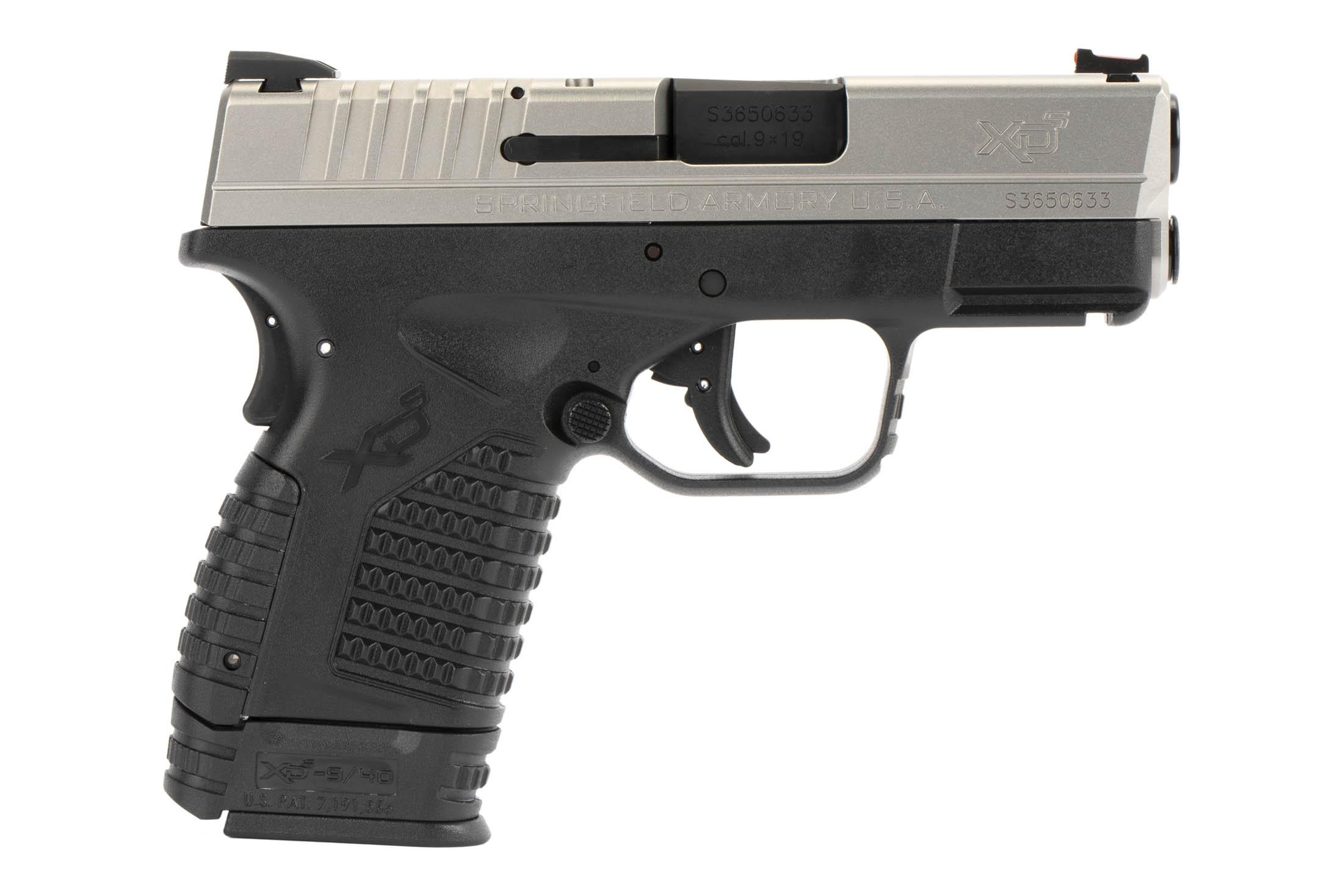 The Springfield Armory XD-S is a 9mm Sub Compact 8 round Handgun with fully ambidextrous controls