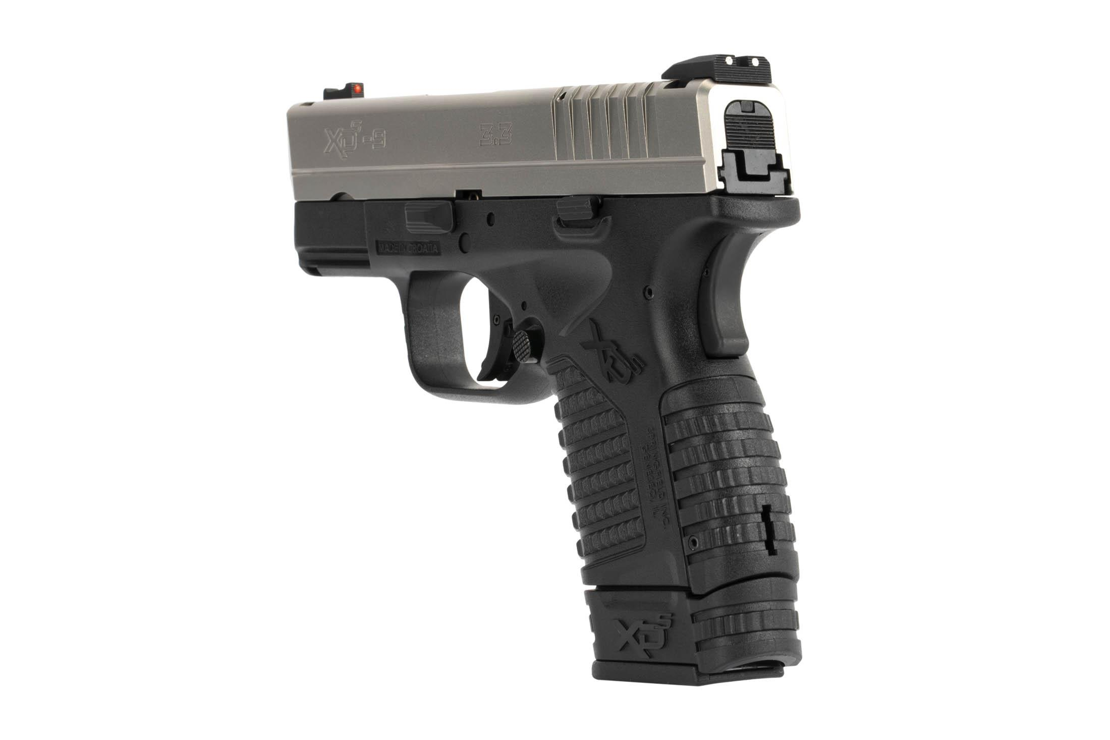 The Springfield Armory XD-S is a 9mm Sub Compact 8 round Handgun with enhanced grip texture and safety