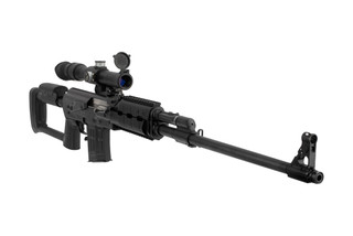 Zastava Arms M91 Sniper Rifle is chambered in 7.62x54R and comes with a scope
