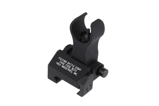 The Troy Industries folding front BattleSight features the HK style