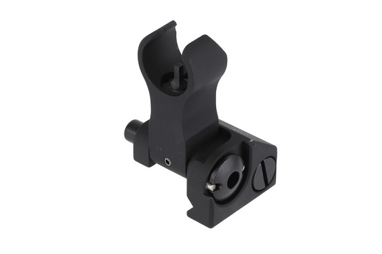 The Troy Battlesight HK style front features a steel locking bar