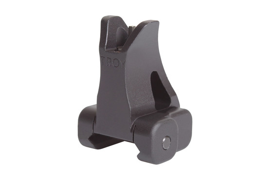 The Troy Industries Front Fixed BattleSight M4 Sight is machined from steel and black anodized