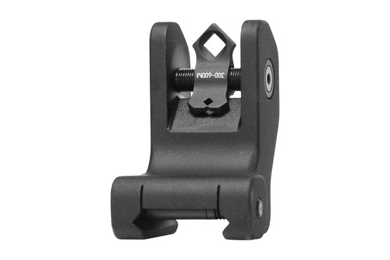 The Troy Industries Rear Fixed BattleSight features a di-optic aperture and black anodized finish