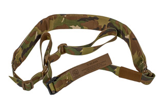 Troy Industries Padded 2 point T-Sling features a multicam pattern