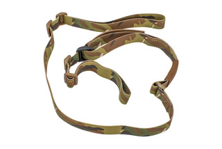 Troy Industries T-Sling MultiCam two point sling features a non-padded design