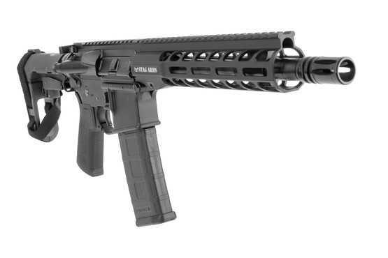"Stag Arms 10.5"" STAG15 Tactical pistol with lightweight M-LOK handguard and A2 flash hider"