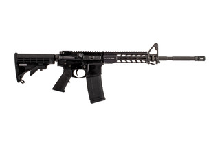 Stag Arms Stag15 LEO Rifle features a 5.56 16 inch barrel with a manganese phosphate finish