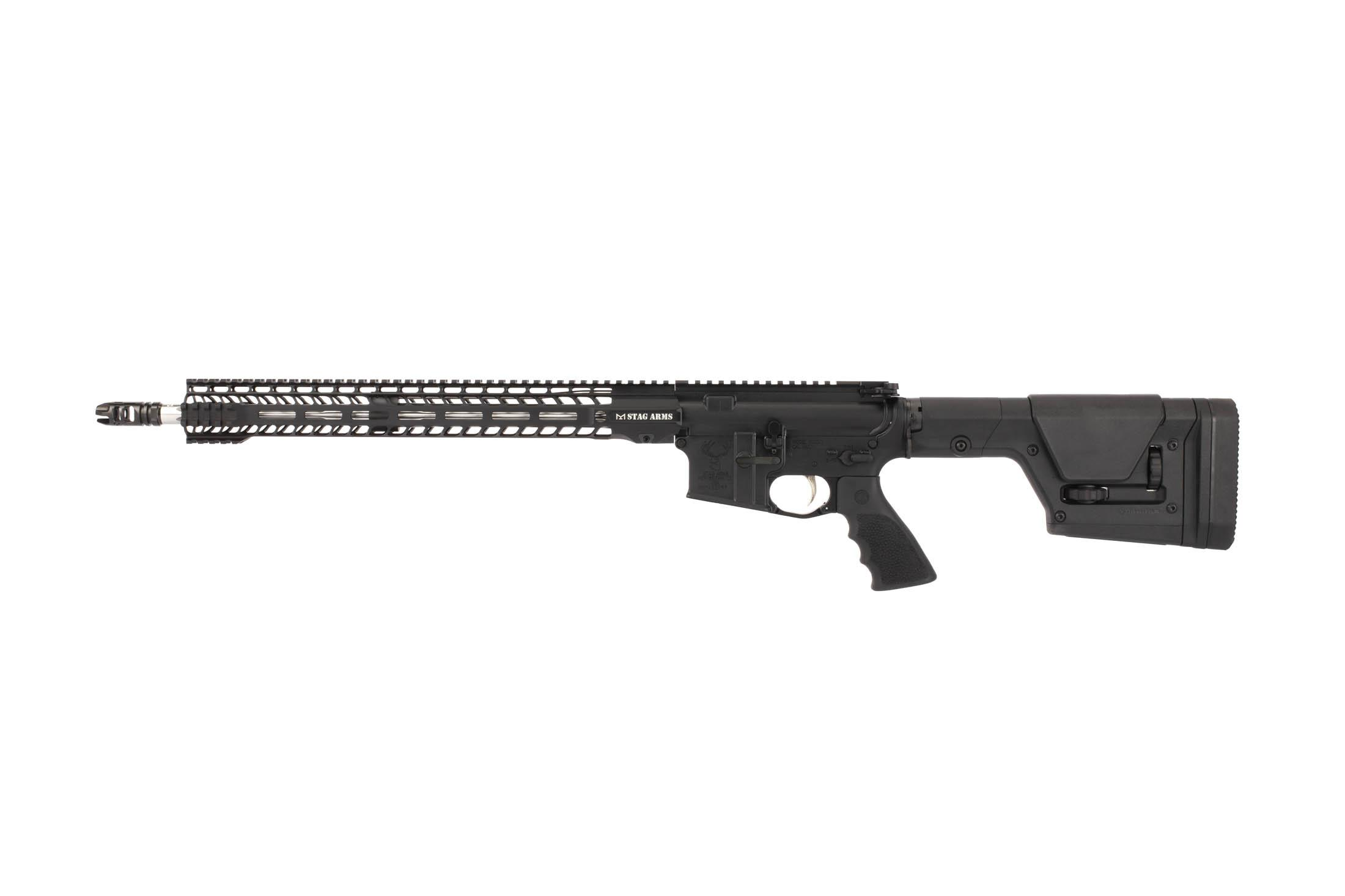 Stag Arms 18in STAG-15 in .224 Valkyrie has a lightweight 16.5in M-LOK handguard