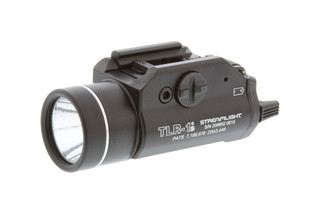 The Streamlight TLR-1S weapon light outputs 300 lumens of white light
