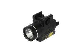 The Streamlight TLR-4 compact weapon light features a red laser and 125 lumens of light