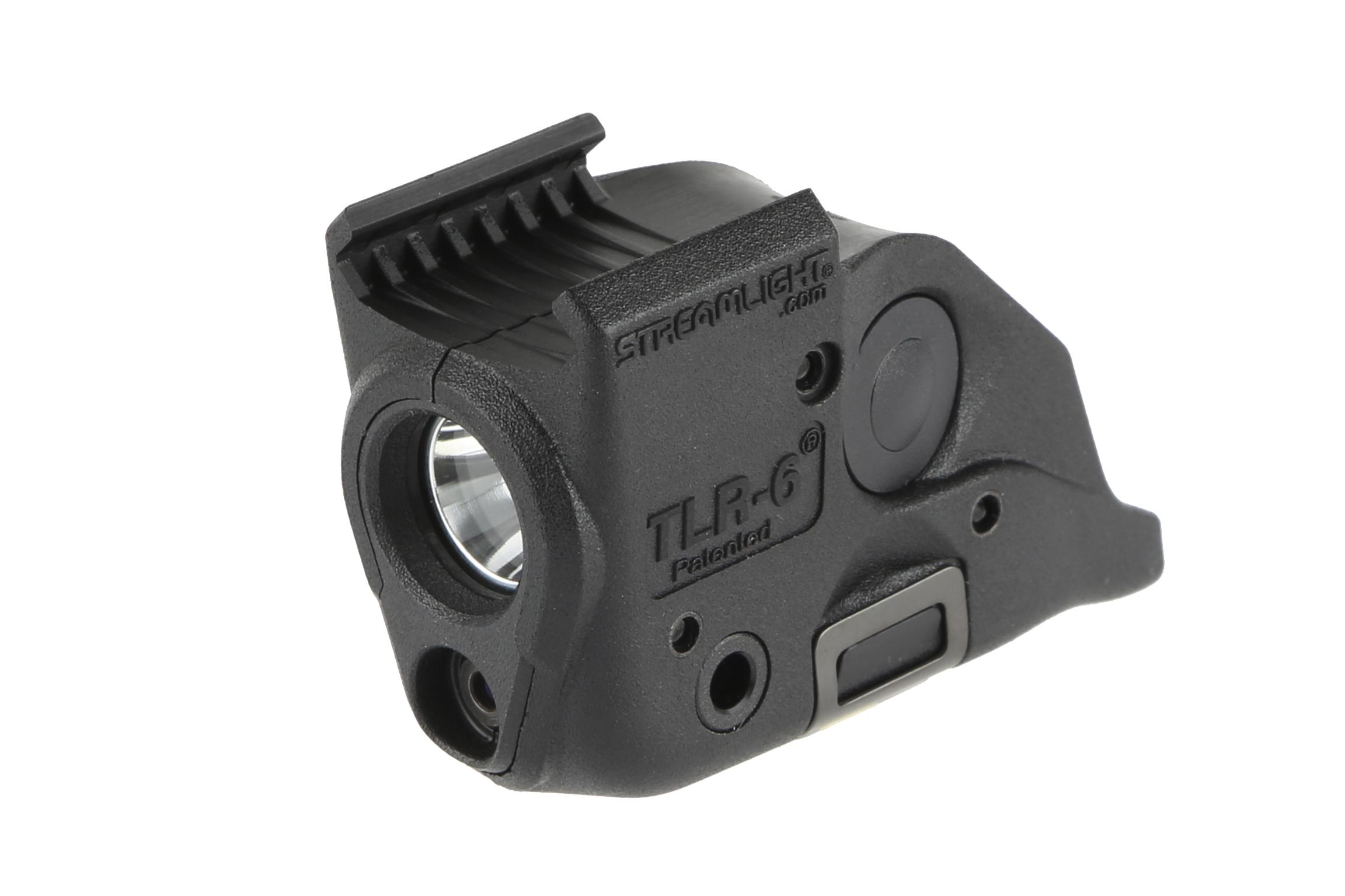 Streamlight TLR-6 SubCompact 100 Lumen Weapon Light with Red Laser - Rail Mount Smith & Wesson M&P