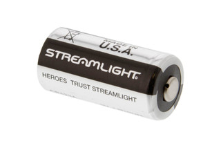The Streamlight CR123A 3V battery is perfect for powering your favorite weapon light and features a 10 year shelf life