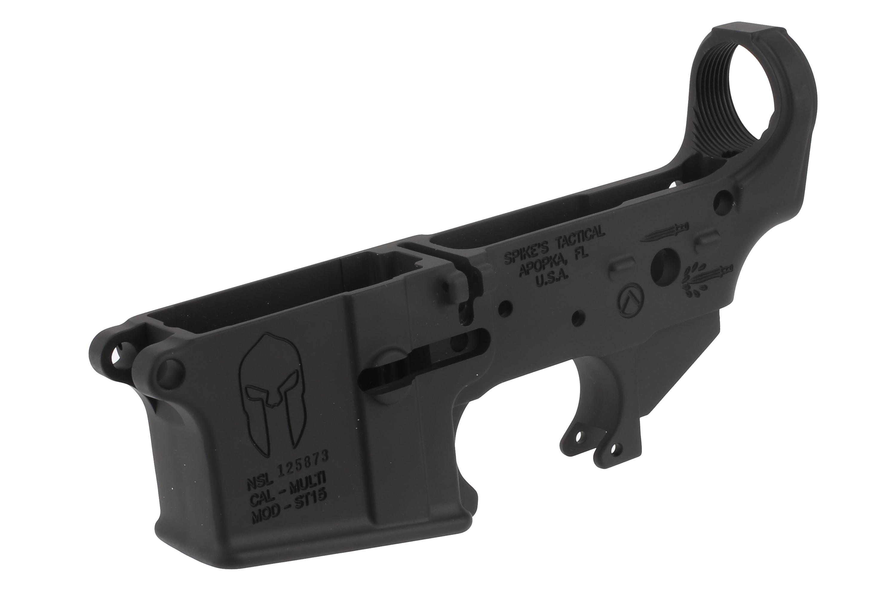 Spike's Tactical Stripped Spartan AR-15 Lower