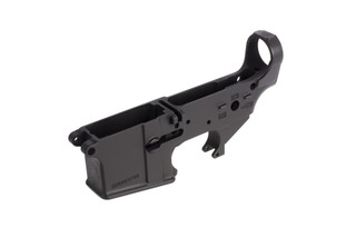 Spike's Tactical Stripped AR-15 lower receiver has no logo for anyone wants a cleaner look to their build