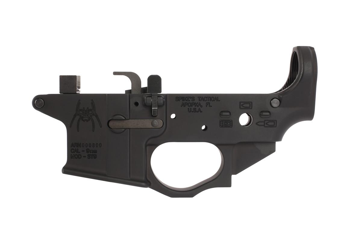 Spike's Tactical Spider 9mm Lower - Colt