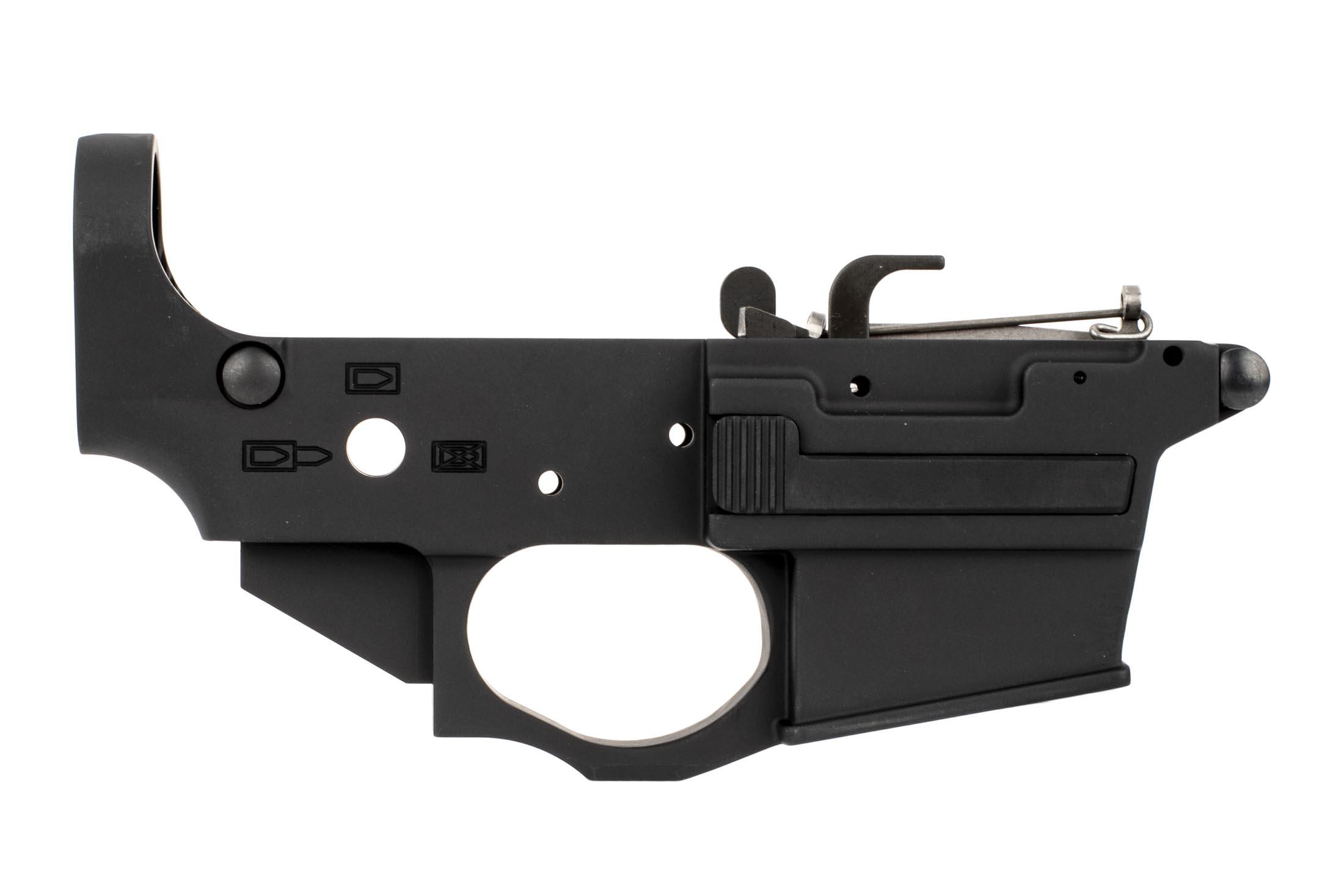 The Spike's Tactical Spider 9mm stripped Lower reciever with billet enlarged trigger guard