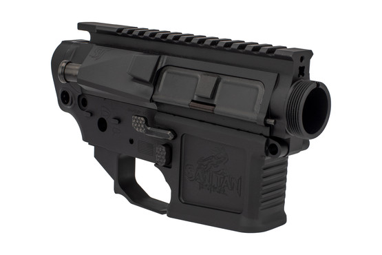 The San Tan Tactical billet set features lightening cuts to reduce weight
