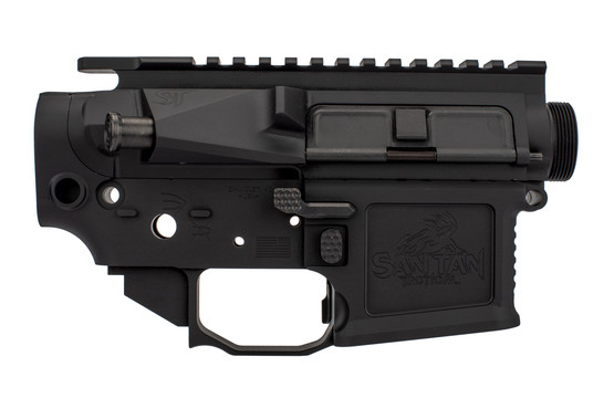 The San Tan Tactical pillar billet receiver set is fully ambidextrous for right or left hand use